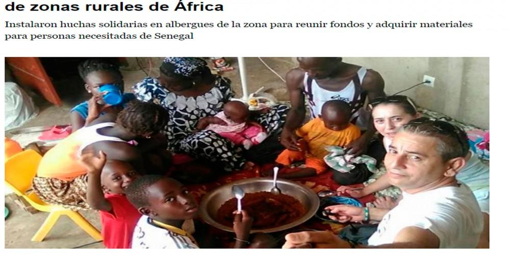 Desde Sarria para África