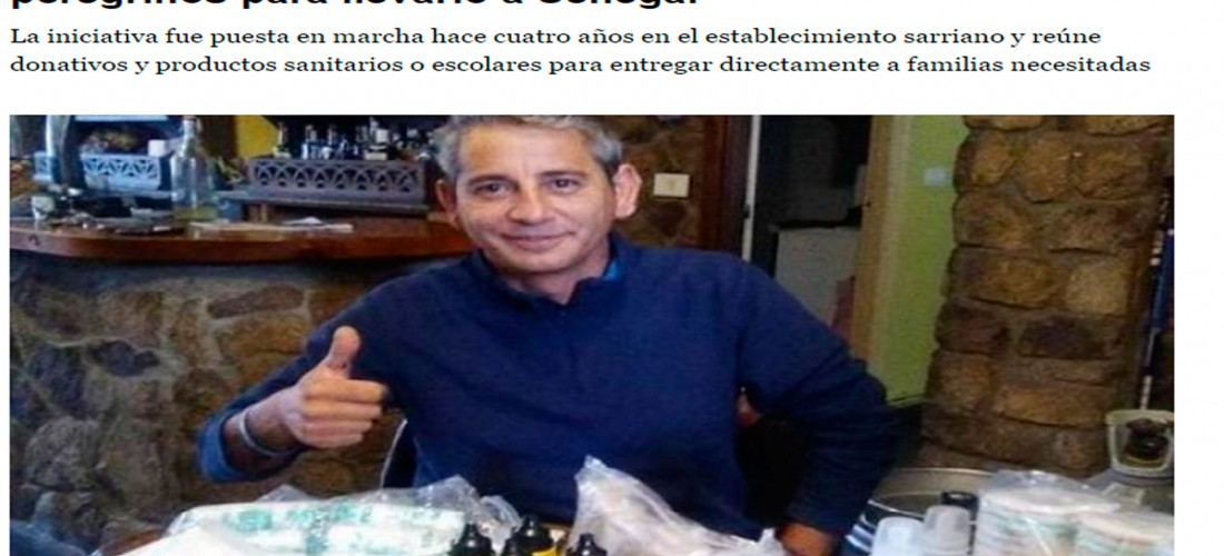 El periódico El Progreso se hace eco de una de las iniciativas de nuestro albergue