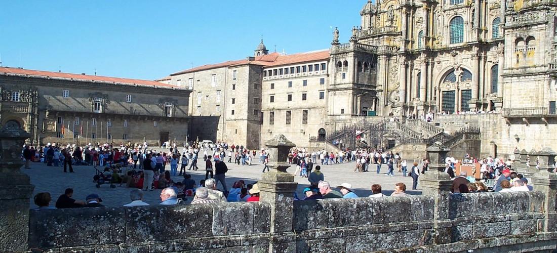 La Plaza del Obradoiro