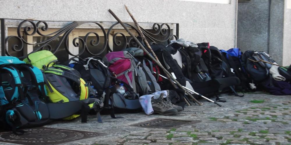 La mochila de un peregrino