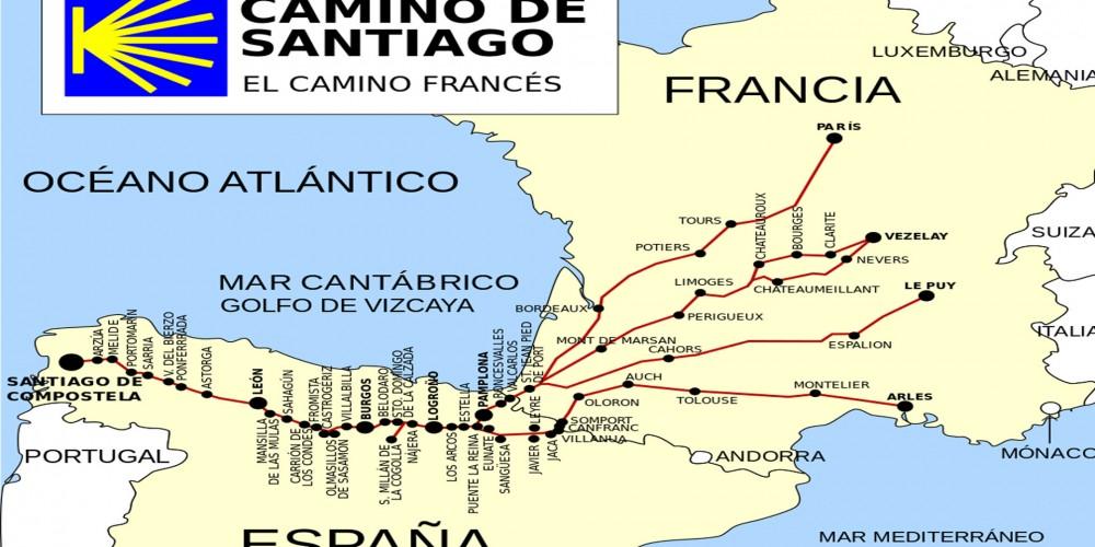 Las 31 etapas del Camino Francés