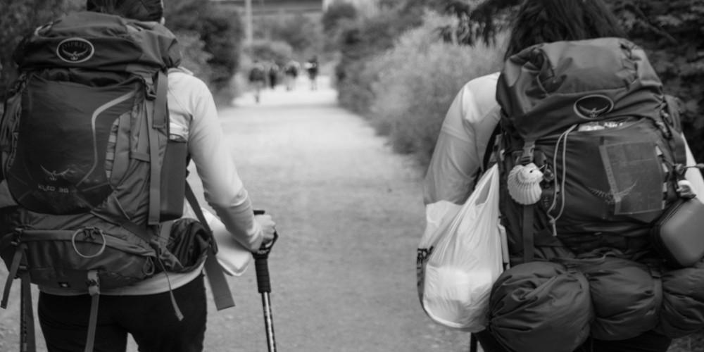 Los primeros peregrinos a Santiago