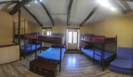 Bunk on 8 people room